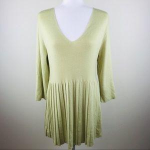 SOFT SURROUNDINGS Yarn Knit Sweater Tunic, XL